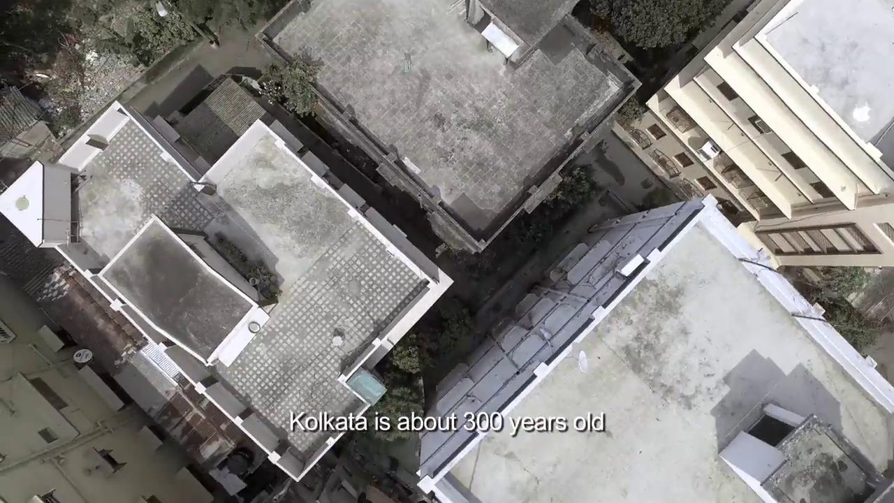 Kolkata drone shot